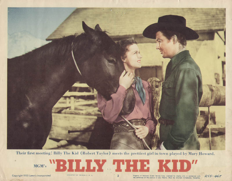 Image 1 for Billy The Kid Movie Cast - Lobby Card Unsigned (Usa) 1955 - HFSID 261885
