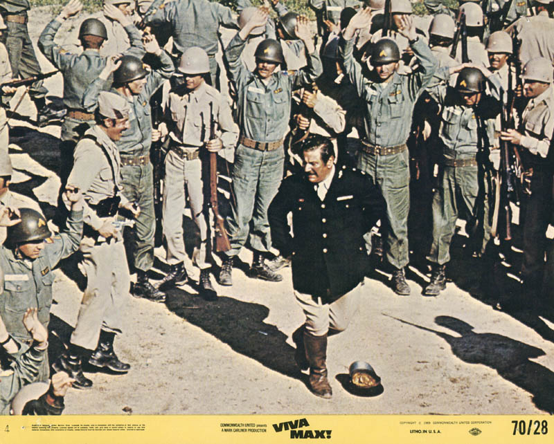Image 1 for Viva Max - Lobby Card Unsigned (Usa) 1969 - HFSID 262030