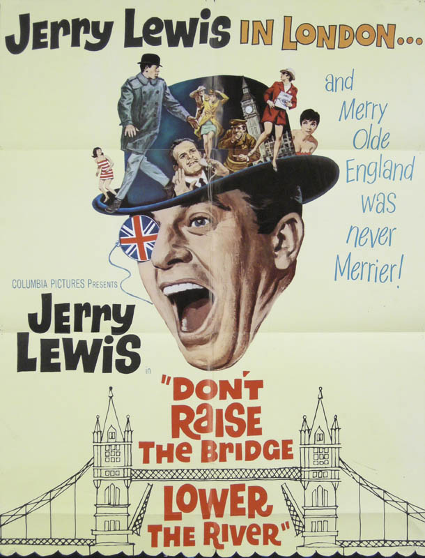 Image 1 for Don''T Raise The Bridge, Lower The River - Original One Sheet Unsigned 1968 - HFSID 262047