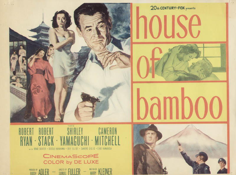 Image 1 for House Of Bamboo Movie Cast - Lobby Card Unsigned (Usa) - HFSID 262193