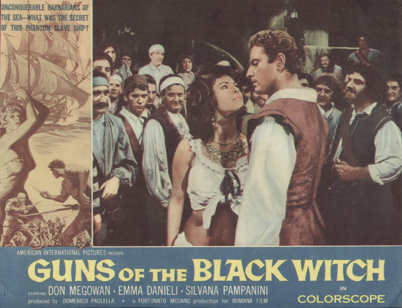 Guns Of The Black Witch Movie Cast Lobby Card Unsigned Usa
