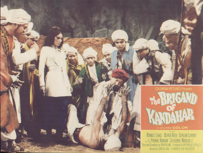 Image 1 for The Brigand Of Kandahar Movie Cast - Lobby Card Unsigned (Usa) 1965 - HFSID 262280