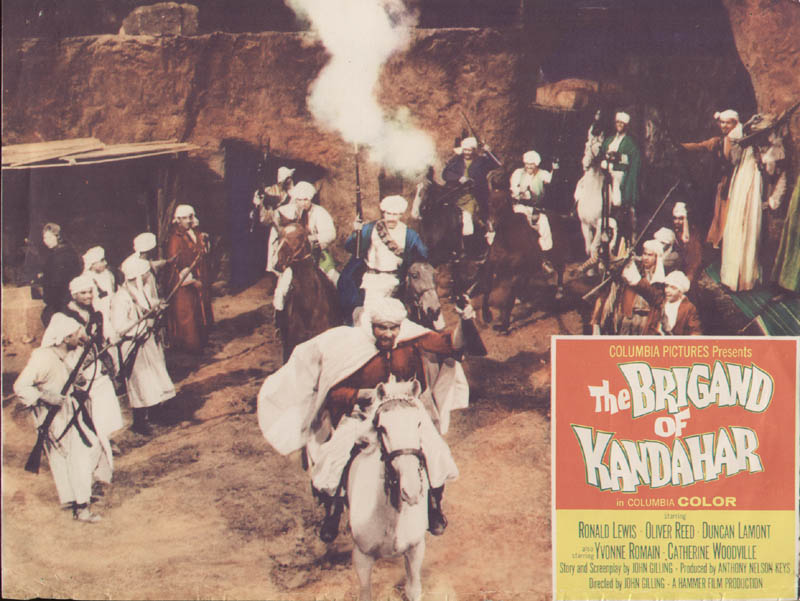 Image 1 for The Brigand Of Kandahar Movie Cast - Lobby Card Unsigned (Usa) 1965 - HFSID 262281