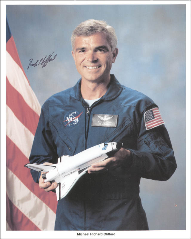 Image 1 for Lt. Colonel Michael 'Rich' Clifford - Autographed Signed Photograph - HFSID 262743