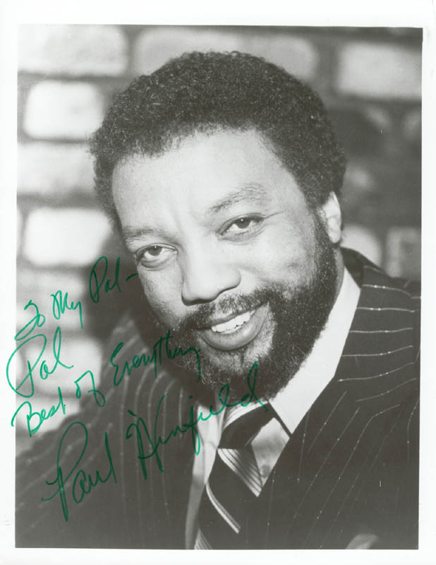 Image 1 for Paul Winfield - Autographed Inscribed Photograph - HFSID 26279