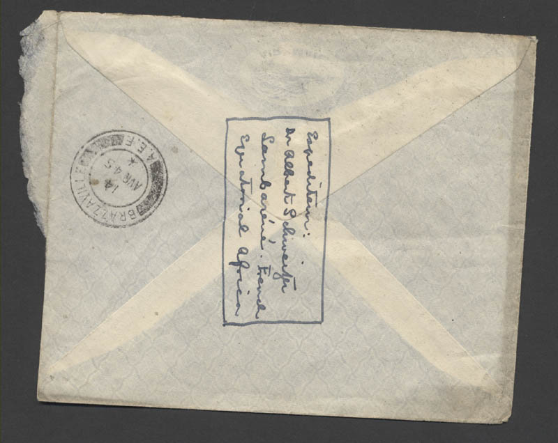 Image 5 for Albert Schweitzer - Autograph Letter Signed 04/02/1945 - HFSID 262800