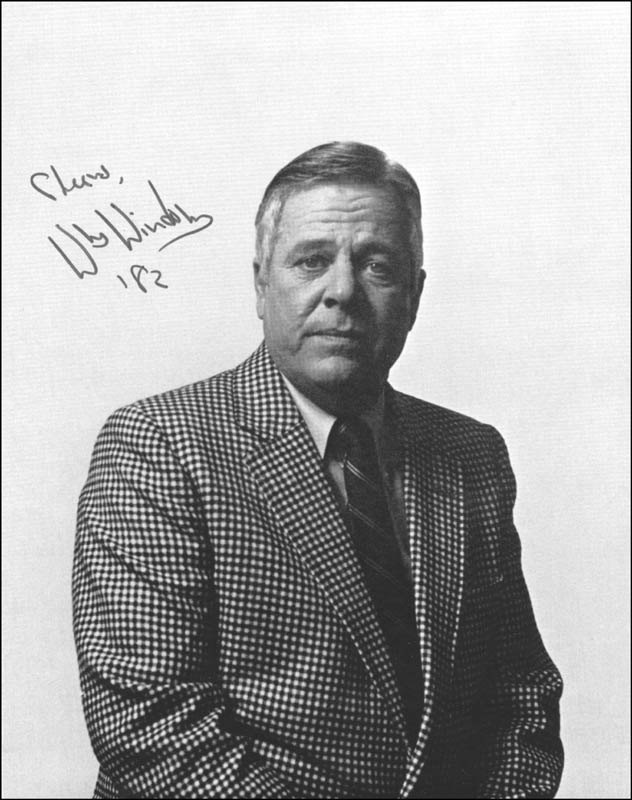 Image 1 for William Windom - Autographed Signed Photograph 1982 - HFSID 26281