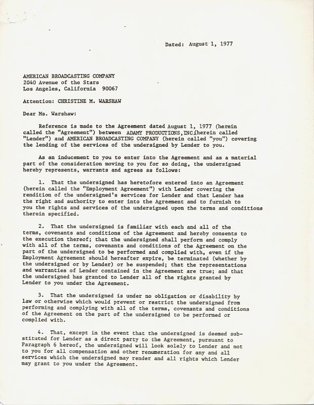Image 4 for Red Buttons - Document Multi-signed 08/01/1977 - HFSID 263085