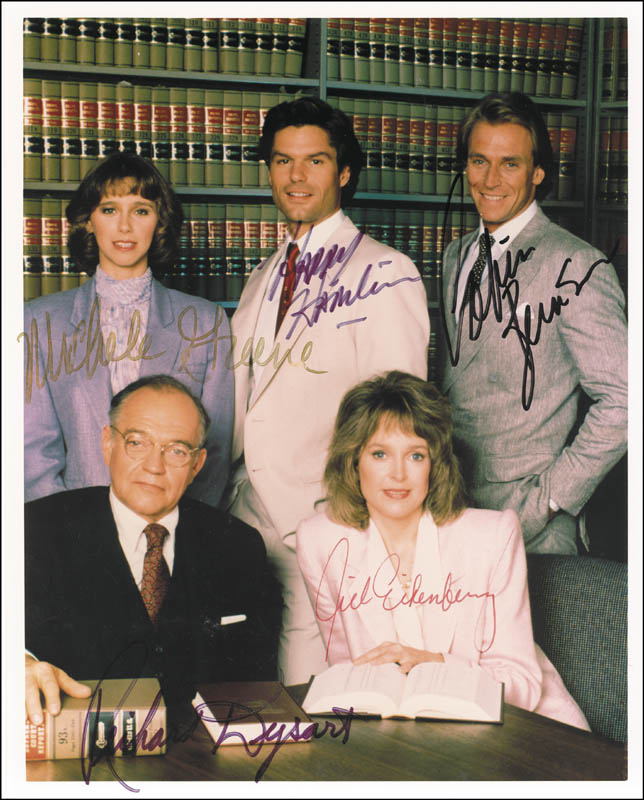 Image 1 for L. A. Law TV Cast - Autographed Signed Photograph with co-signers - HFSID 263134