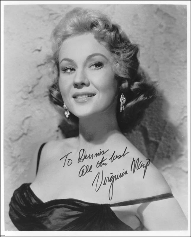 Image 1 for Virginia Mayo - Autographed Inscribed Photograph - HFSID 263138