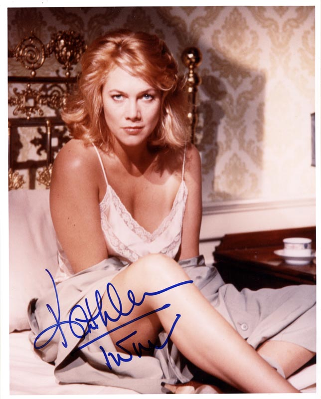 Image 1 for Kathleen Turner - Autographed Signed Photograph - HFSID 263391