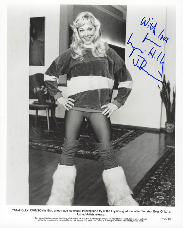 Image 1 for Lynn-holly Johnson - Autographed Signed Photograph - HFSID 263401