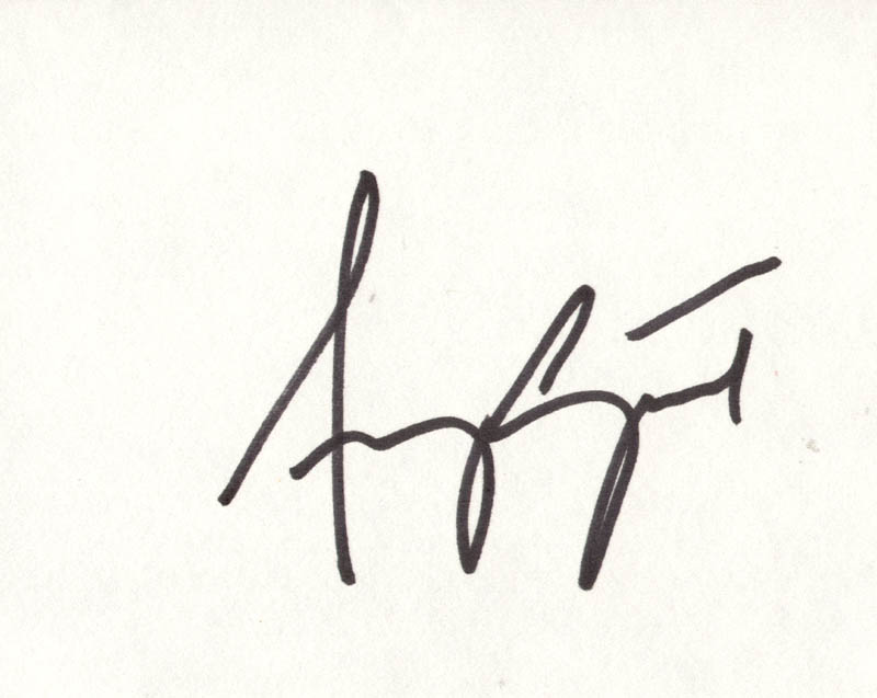Image 1 for Amy Grant - Autograph - HFSID 263452
