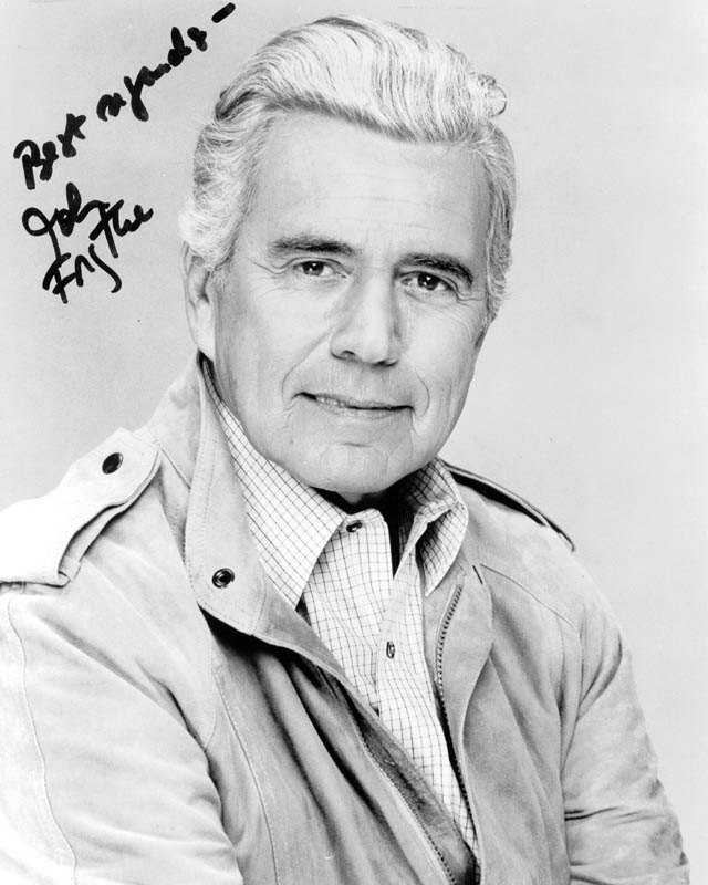 Image 1 for John Forsythe - Autographed Signed Photograph - HFSID 263469