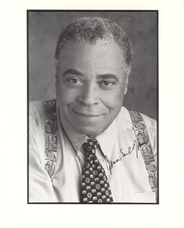 Image 1 for James Earl Jones - Autographed Signed Photograph - HFSID 263485