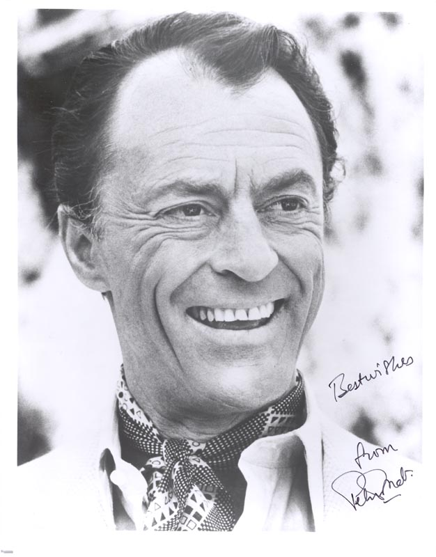 Image 1 for Peter Donat - Autographed Signed Photograph - HFSID 263496