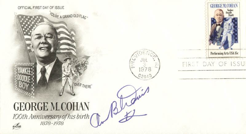 Image 1 for Ann B. Davis - First Day Cover Signed - HFSID 263699