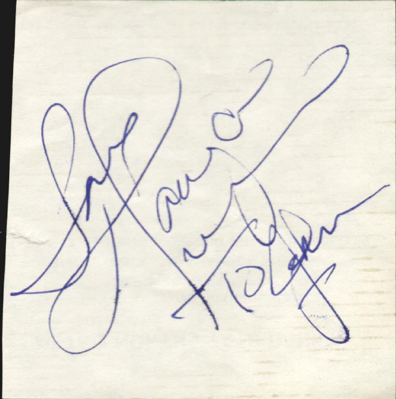 Image 1 for Tanya Tucker - Autograph Note Signed - HFSID 263750
