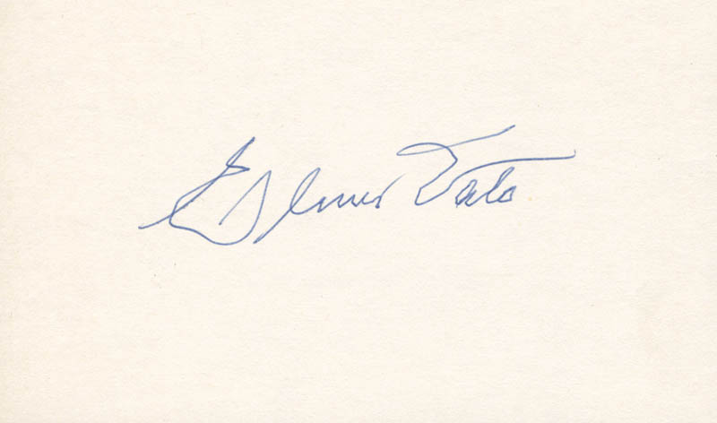 Image 1 for Elmer Valo - Autograph - HFSID 263918