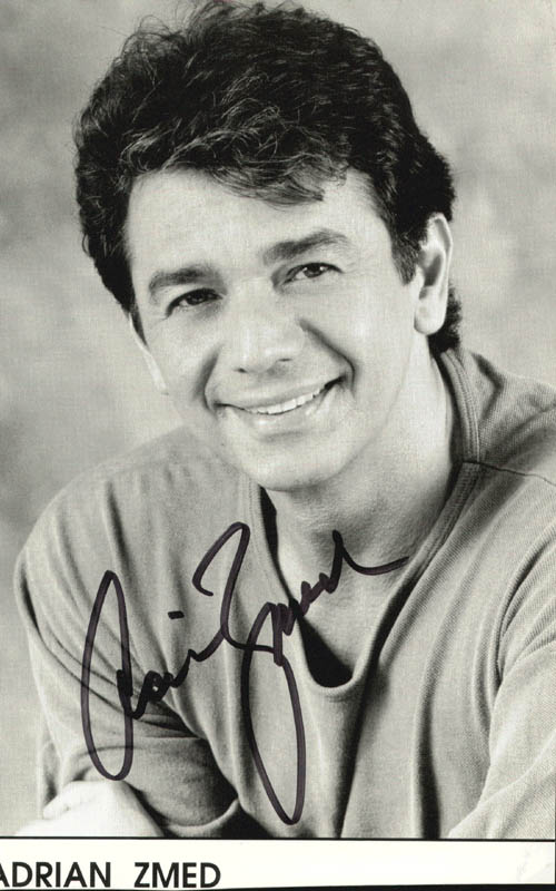 Image 1 for Adrian Zmed - Autographed Signed Photograph - HFSID 264068