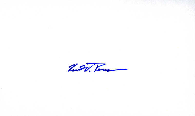 Image 1 for Captain Kent V. Rominger - Autograph - HFSID 264141