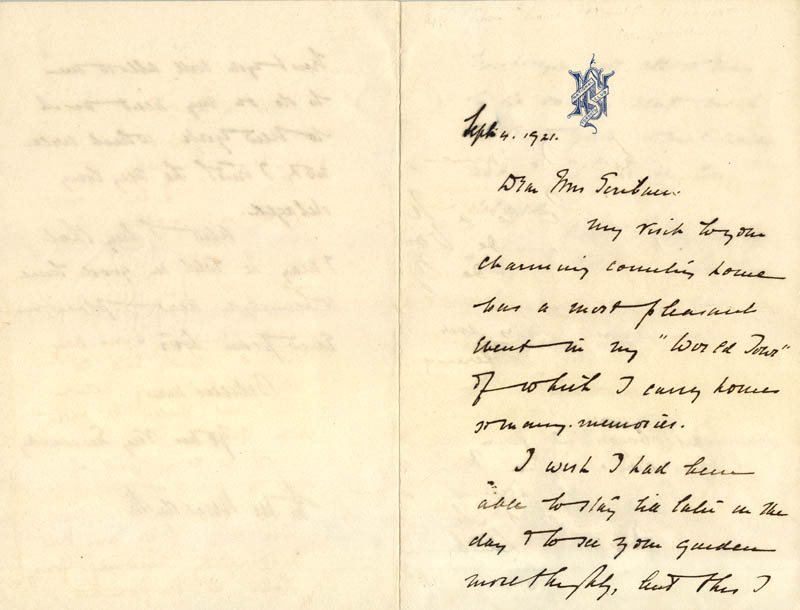 Image 3 for Edwin T. Meredith - Autograph Letter Signed 09/04/1921 - HFSID 26445