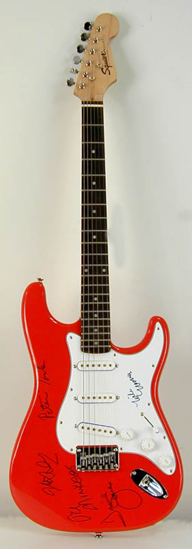 Image 3 for The Monkees - Guitar Signed with co-signers - HFSID 264640