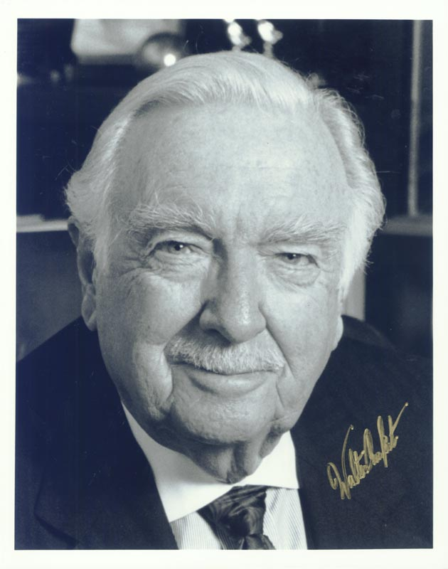Image 1 for Walter Cronkite - Autographed Signed Photograph - HFSID 264711