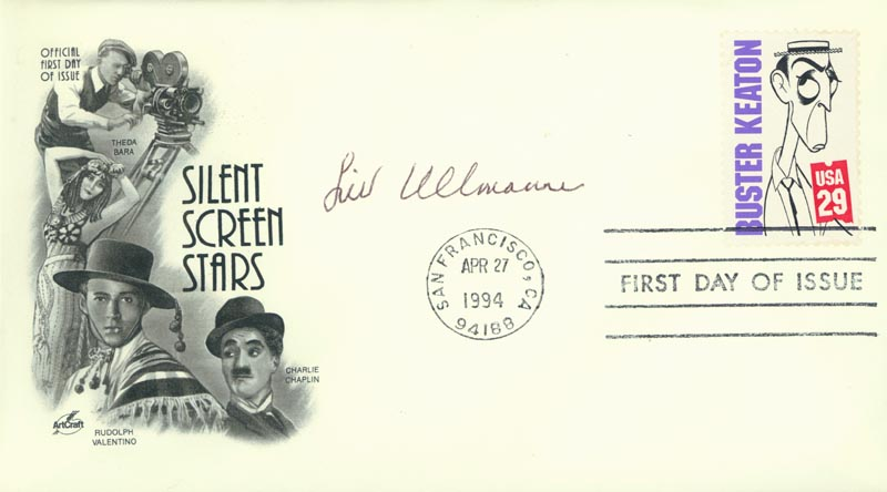 Image 1 for Liv Ullmann - First Day Cover Signed - HFSID 264747
