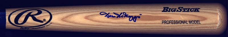 Image 1 for Dom Dimaggio - Baseball Bat Signed - HFSID 264803