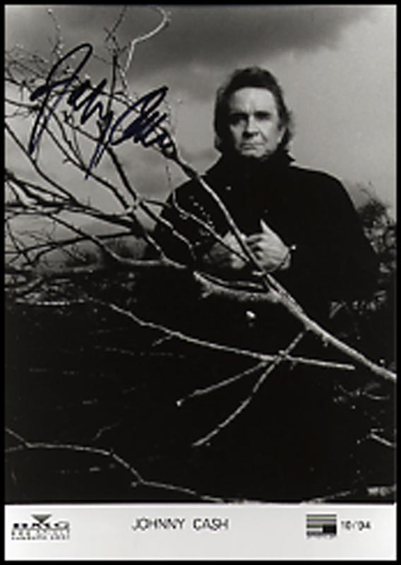 Image 1 for Johnny Cash - Autographed Signed Photograph - HFSID 264895