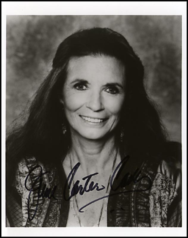 Image 1 for June Carter Cash - Autographed Signed Photograph - HFSID 264896