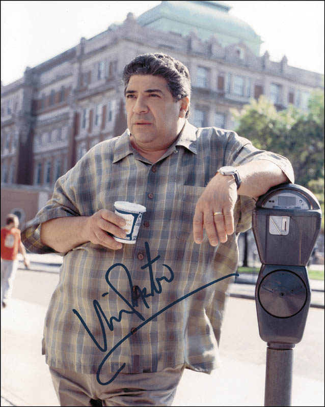 Image 1 for Vincent Pastore - Autographed Signed Photograph - HFSID 264963