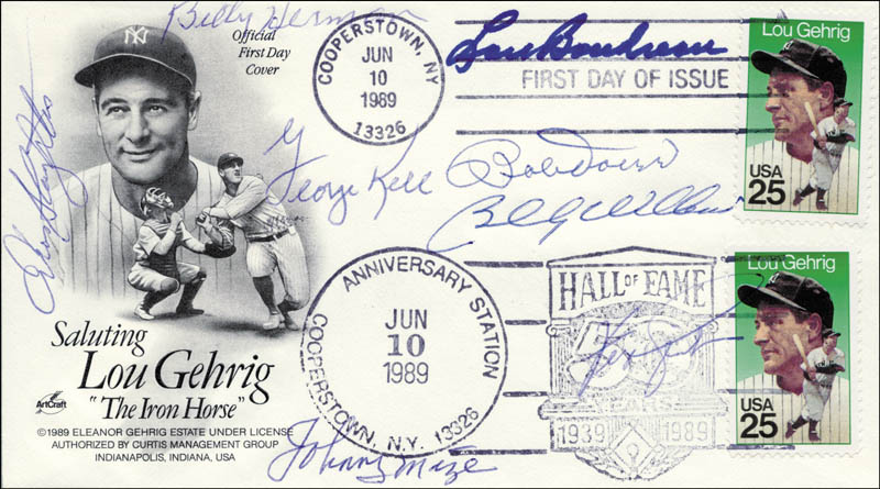 Image 1 for Bobby Doerr - First Day Cover Signed with co-signers - HFSID 265020