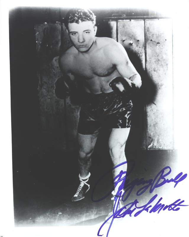 Image 1 for Jake 'The Raging Bull' La Motta - Autographed Signed Photograph - HFSID 265025