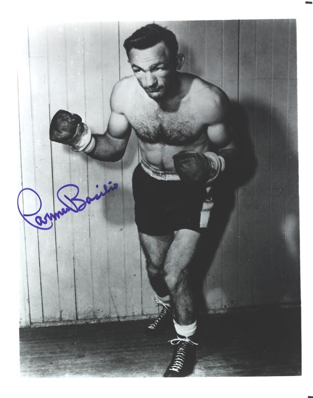 Image 1 for Carmen Basilio - Autographed Signed Photograph - HFSID 265027