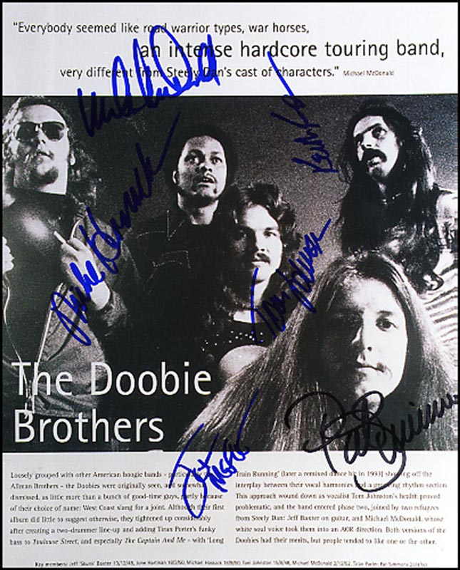the doobie brothers album covers