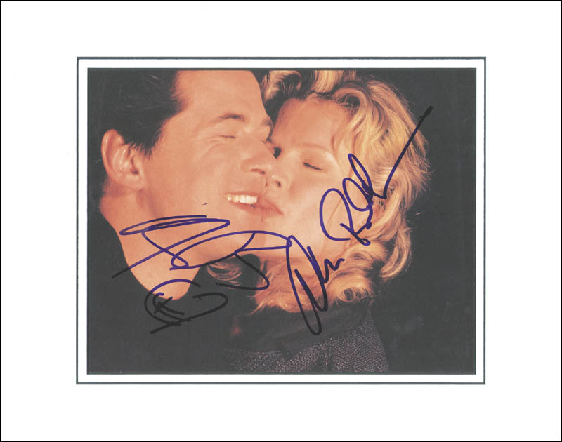 Image 1 for Alec Baldwin - Book Photograph Signed co-signed by: Kim Basinger - HFSID 265292