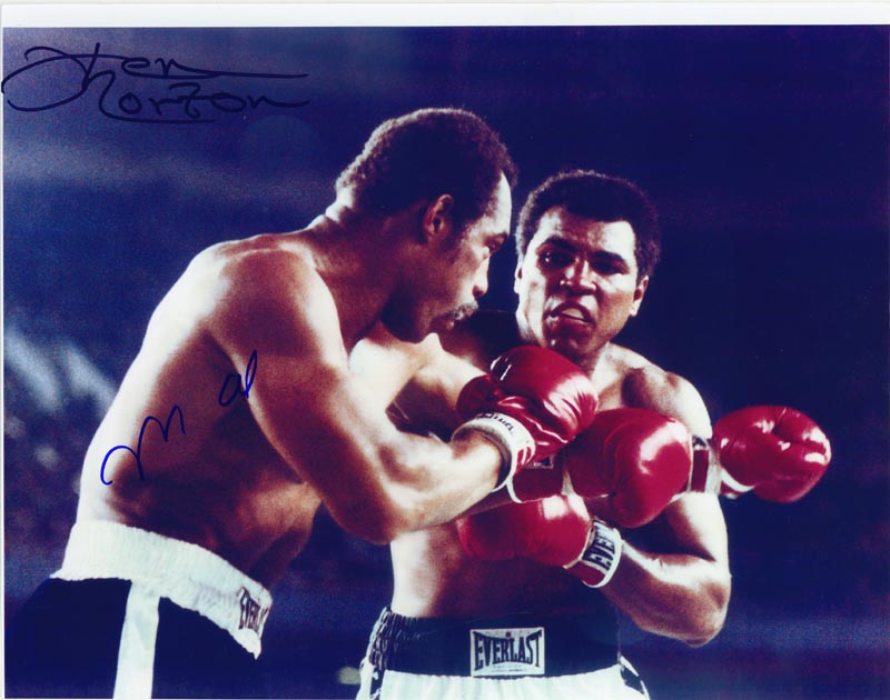 Image 1 for Muhammad 'The Greatest' Ali - Autographed Signed Photograph co-signed by: Ken Norton - HFSID 265313