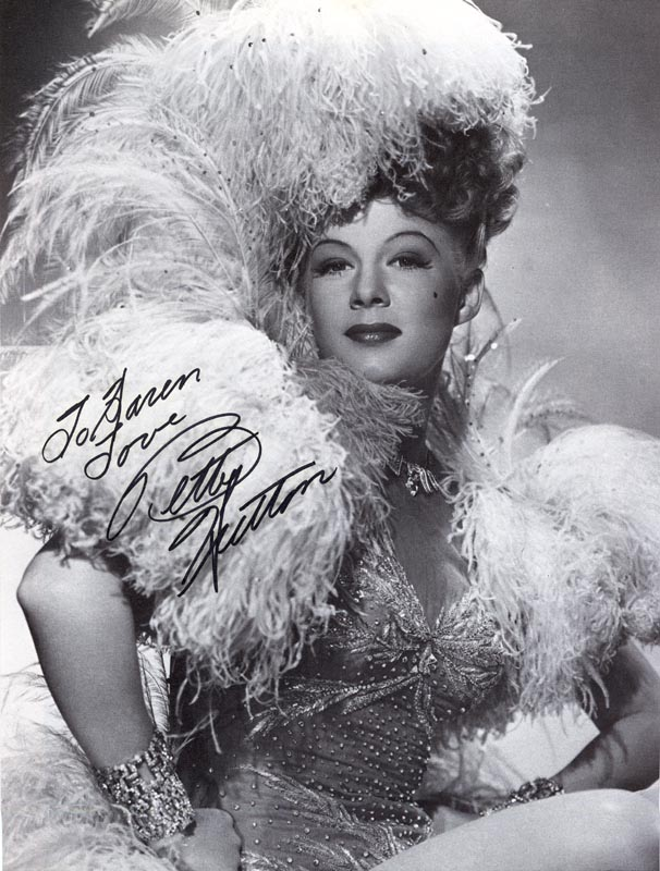 Image 1 for Betty Hutton - Inscribed Book Photograph Signed - HFSID 265392