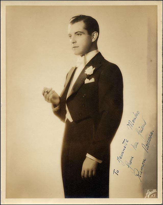 Image 1 for Ramon Novarro - Autographed Inscribed Photograph - HFSID 265474