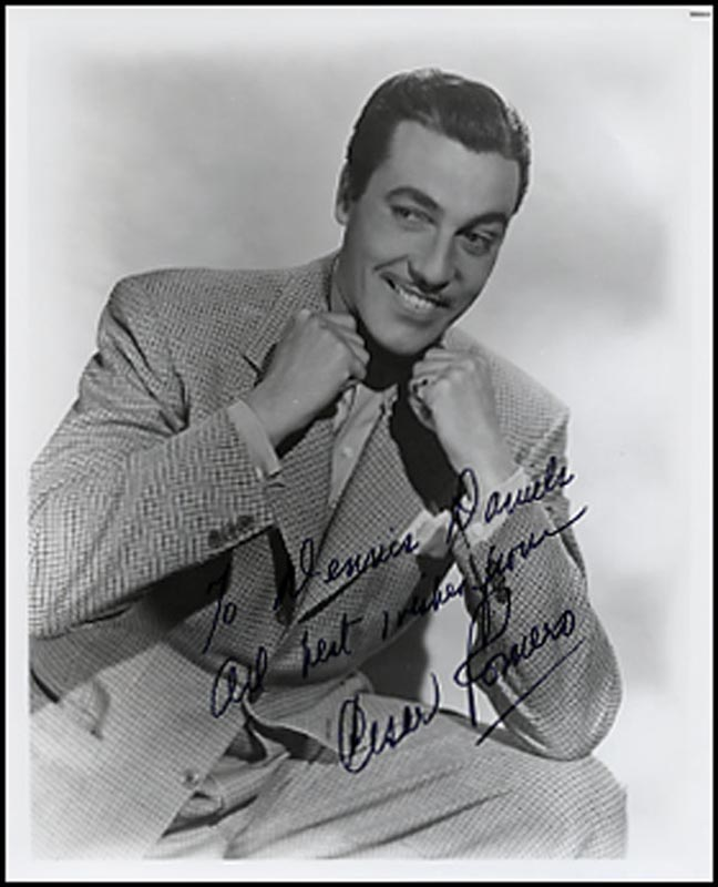Image 1 for Cesar Romero - Autographed Signed Photograph - HFSID 265485