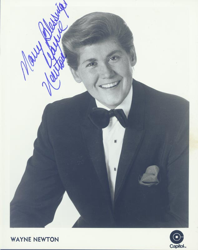 Image 1 for Wayne Newton - Autographed Signed Photograph - HFSID 265506