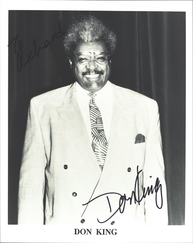Image 1 for Don King - Autographed Inscribed Photograph - HFSID 265581
