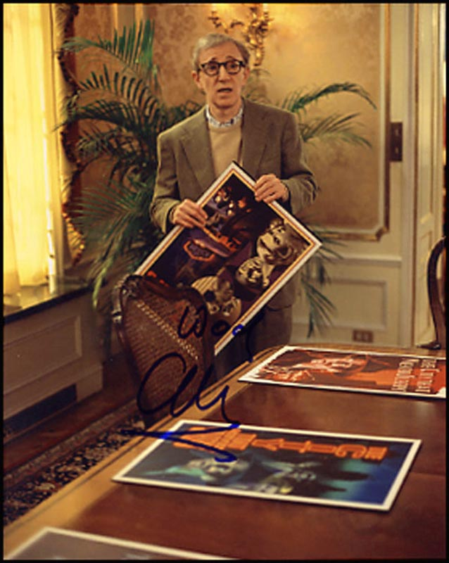 Image 1 for Woody Allen - Autographed Signed Photograph - HFSID 265615
