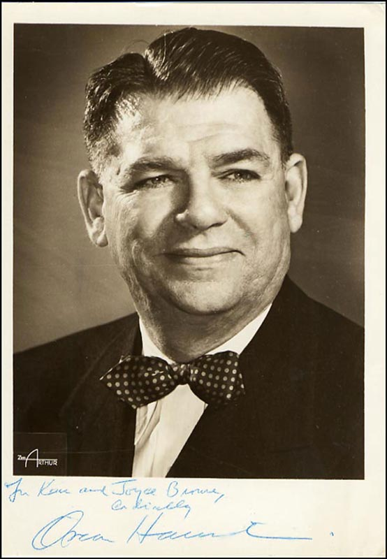 Image 1 for Oscar Hammerstein II - Autographed Inscribed Photograph - HFSID 265688