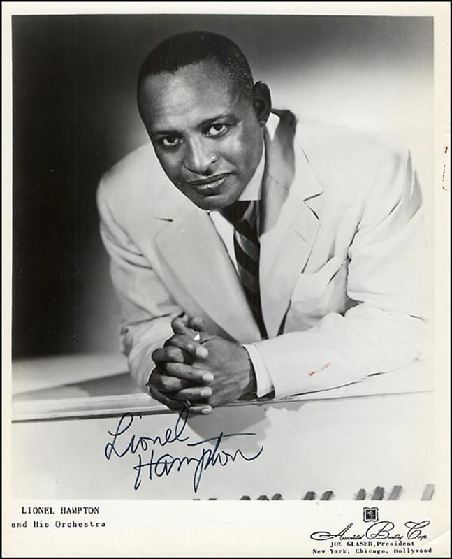 Image 1 for Lionel Hampton - Autographed Signed Photograph - HFSID 265689