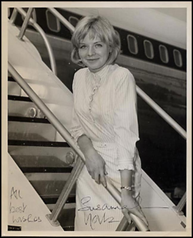 Image 1 for Susannah York - Autographed Signed Photograph Circa 1961 - HFSID 265739