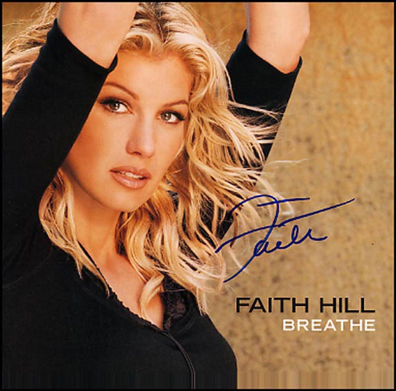 Image 1 for Faith Hill - Record Album Cover Signed - HFSID 265759
