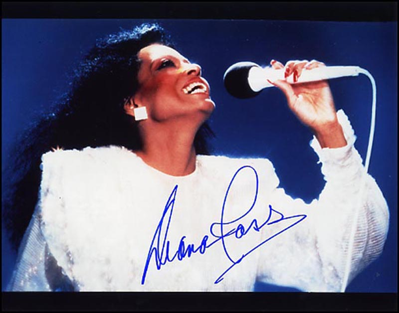 Image 1 for Diana Ross - Autographed Signed Photograph - HFSID 265786